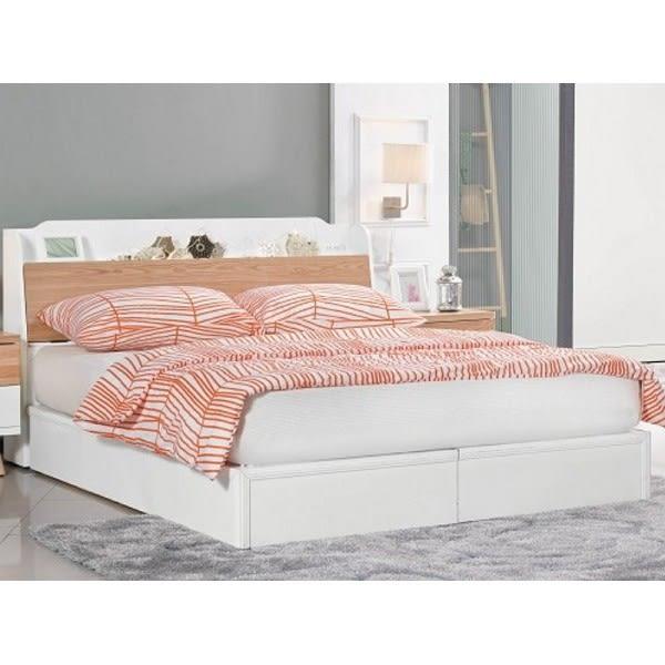 床架 AM-325-3A 伊森5尺雙人床 (床頭+床底)(不含床墊) 【大眾家居舘】