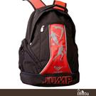 imitu 【JUMP】MIT 多功能書護脊背包(黑紅_JP6200)