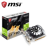 【MSI 微星】GeForce N730 2GD3V3 顯示卡(雪精靈系列)