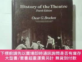 二手書博民逛書店History罕見of the Theatre-戲劇史Y414958 Oscar Gross Brockett