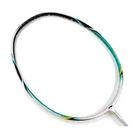 [送握把皮][陽光樂活=]【LI-NING】李寧LNAYPJ026-1 UC8000綠 輕量超薄拍框4U羽球拍