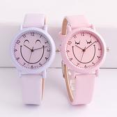 兒童手錶 韓版潮流簡約可愛兒童手錶女孩男孩石英錶防水中小學生女童電子錶 店慶降價