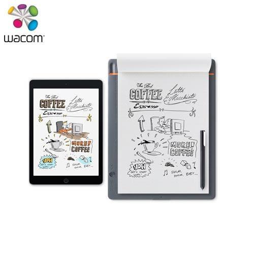 Wacom Bamboo Slate 智慧型手寫板(大) (A4)CDS-810S【送 Slate筆芯+LINE滑鼠】
