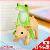 〖LifeTime〗﹝旅行青蛙騎豬公仔﹞日貨 COPEAU青蛙 公仔 模型 居家裝飾 玩具 D66023