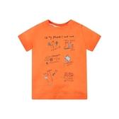 mothercare 橘色花園趣短袖上衣-春天花園(M0PB229)12個月~5歲