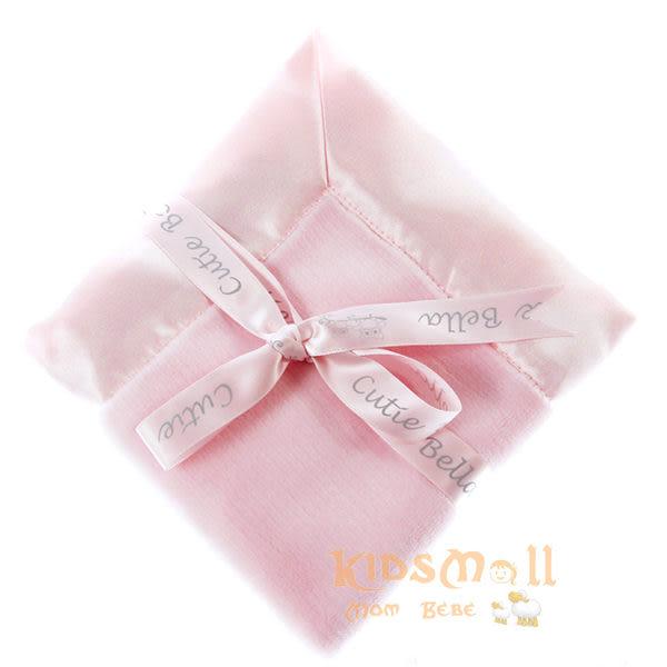 Cutie Bella 超柔軟嬰兒安撫巾 - 粉色