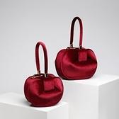 手提包-真皮歐美時尚純色復古女絨布包4色73tn4【巴黎精品】