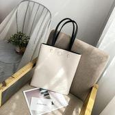 時尚女包新款韓版軟皮托特包學生百搭簡約大容量側背手提包潮 黛尼時尚精品