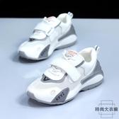 夏季大碼女鞋41一43百搭加肥腳寬胖平底運動小白鞋【時尚大衣櫥】