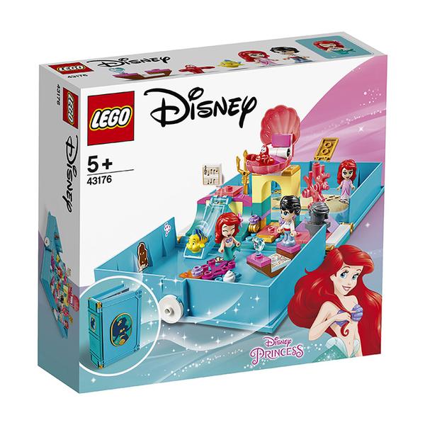 LEGO 樂高 Disney 公主系列 43176 小美人魚 愛麗兒的口袋故事書 【鯊玩具Toy Shark】