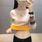 MG 毛衣-保暖打底衫女加厚加絨長袖韓版...