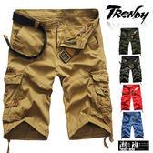『潮段班』【HJ000K19】促銷399歐美流行類A&F風格工裝多口袋短褲