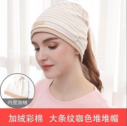 孕婦帽 月子帽產后加絨加厚彩棉防風保暖春季室內外月子頭巾髪帶用品【快速出貨八折鉅惠】