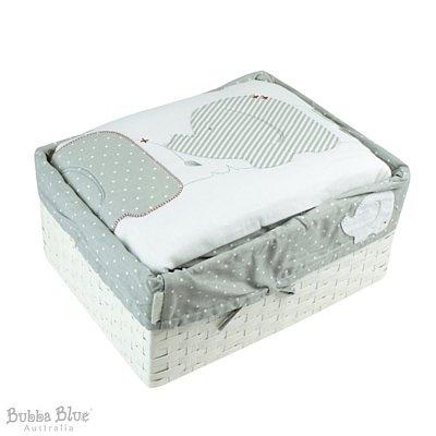 Bubba Blue 寢具六件式禮盒組 小灰象