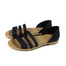 Crocs tulem open flat 涼鞋 黑色 女鞋 206109-00W no039