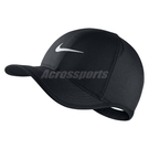 Nike 帽子 Arobill Featherlight Cap 老帽 棒球帽 勾勾 運動 黑 白 【PUMP306】 739376-010