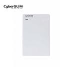 CyberSLIM  2.5吋硬碟外接盒 SSD 2.5吋行動固態硬碟盒 白色 USB3.0  V25U3