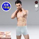 【法國名牌】男內褲~型男無縫運動平口褲/...