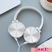 耳罩式耳機 大耳機頭戴式耳機音樂手機有線女 電腦耳麥男 源治良品