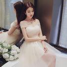 伴娘服 伴娘團韓式短款姐妹畢業小禮服