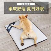 狗狗便攜涼席墊夏天寵物地墊冰墊墊子法斗防潮席子夏季寵物睡覺狗窩墊 PA3302『紅袖伊人』