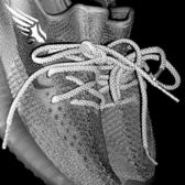 鞋帶黑白天使反光原裝