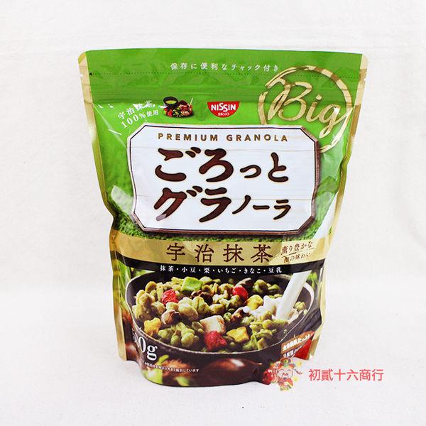 日本日清 宇治抹茶麥片500g【0216團購會社】4901620161217