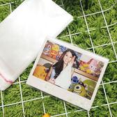 PGS7 富士 拍立得 相片保護套 - 寬幅專用可黏款 100入 保護 富士 210 寬幅底片 空白底片【SCZ5502】