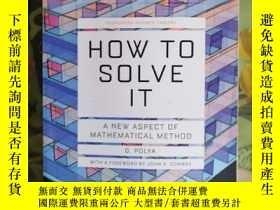 二手書博民逛書店How罕見to solve it 怎樣解題 英文原版Y384676 G.Polya Princeton uni