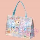 ♥小花花日本精品♥海洋迪士尼樂園限定2019Duffy&Friends達菲情人節系列購物袋提袋 90219108