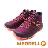 MERRELL(女)ZION FST MID防水郊山健行鞋 女鞋-紫(另有黑綠)