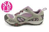 MERRELL女運動鞋AZURA GORE-TEX ML24330真皮登山健行鞋 F8362#灰紫 零碼出清