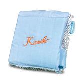 Karibu Tubby 凱俐寶 嬰幼兒洗澡浴網 / 洗澡網 / 防滑浴網(粉藍色)