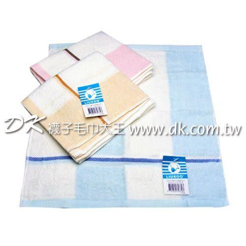 LK372 煙斗 大彩條方巾 (6條) ~DK襪子毛巾大王