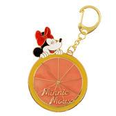 【京之物語】日本迪士尼Disney ufufy米妮葡萄柚鑰匙圈 吊飾-預購商品