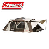 【Coleman 美國 新氣候達人2-R COCOON II 一房一廳帳篷】CM-22110/露營帳篷/客廳帳★滿額送