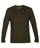 Hurley DRI-FIT ONE AND ONLY 2.0 LONG SLEEVE 長袖T恤-DRY FIT-軍綠(男)