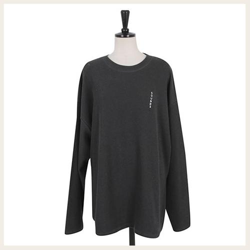 ✦Styleon✦正韓。個性螢光字母圓領長袖T恤上衣。韓國連線。韓國空運。1113。