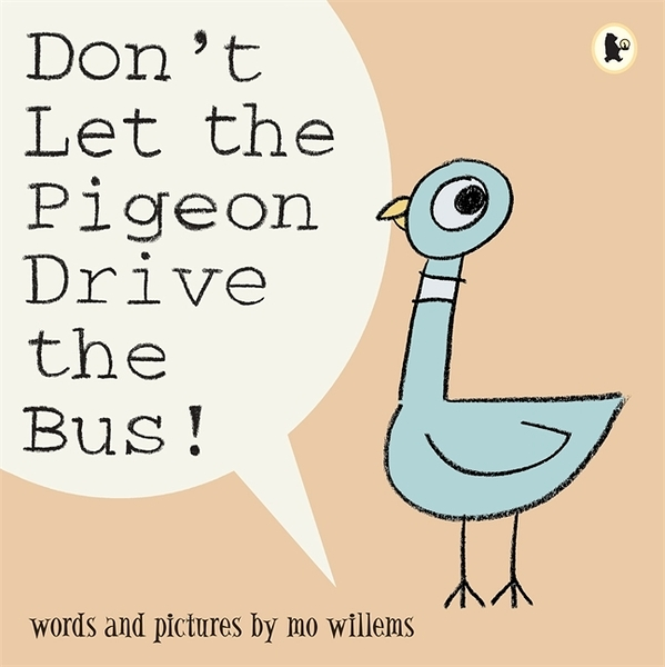 Don't Let The Pigeon Drive The Bus! 別讓鴿子開巴士!平裝繪本