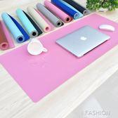 雙面鼠標墊超大辦公桌墊游戲鍵盤墊書桌墊皮墊子學習防水桌墊