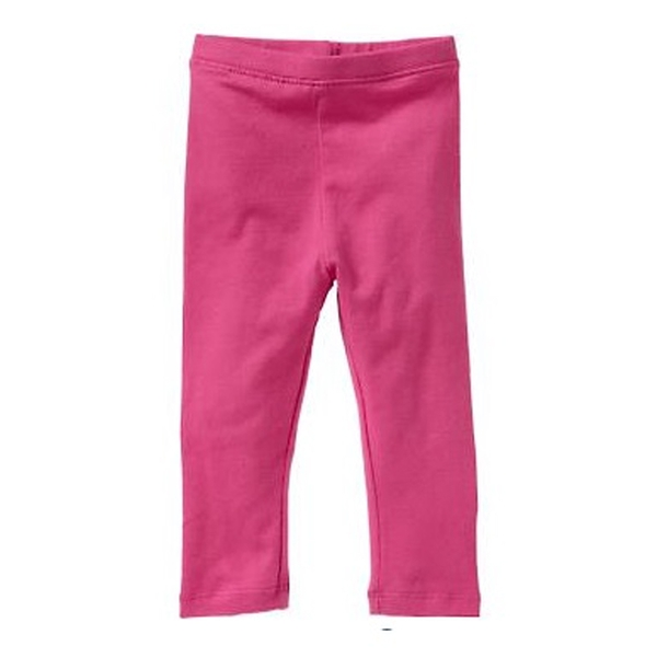 女童內搭長褲 居家休閒外出褲子 粉色 | Old Navy童裝 (兒童/小孩/小朋友/幼童/小童/孩童/寶寶)