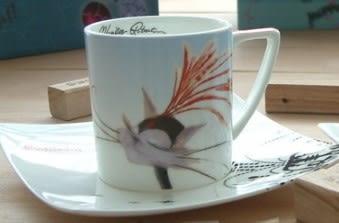 [協貿國際]  歐式創意陶瓷咖啡杯碟套裝(整套價)
