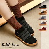 防潑水 光線流動韓風小短靴。Bubble Nara波波娜拉。寬肉腳不用硬塞,舒服好紓展麵包靴 YA10404