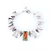 水晶手鍊 925純銀-幾何造型生日情人節禮物女手環4色73ak149【時尚巴黎】
