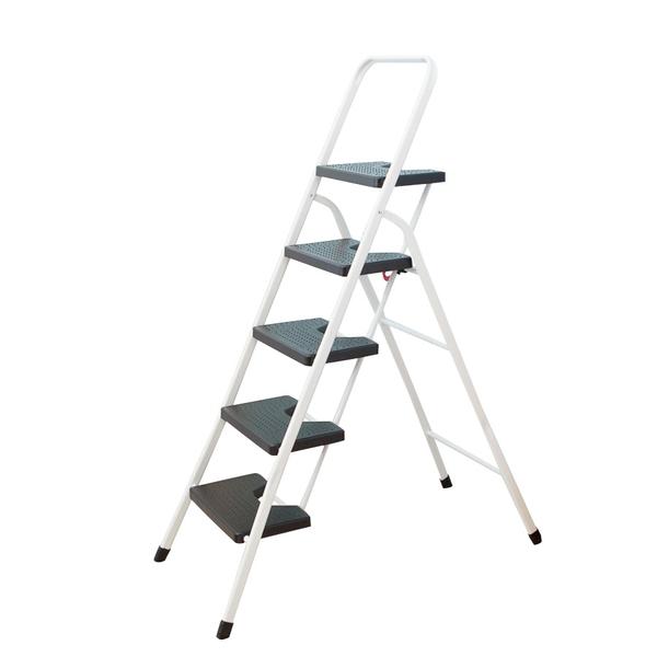 【JL精品工坊】小幫手五階家用梯/爬梯/A字梯/鋁梯/馬椅梯/梯子