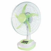 KINYO耐嘉 CF-1402 充電彩色風扇 充電式電風扇 小型電風扇 立扇 桌用電風扇 電風扇 【迪特軍】
