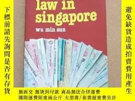 二手書博民逛書店business罕見law in singapore 新加坡商法
