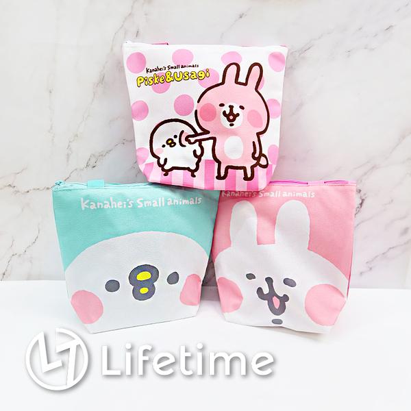 ﹝卡娜赫拉方型便當袋﹞正版 便當袋 餐袋 手提餐袋 提袋 兔兔 P助〖LifeTime一生流行館〗