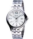 Ogival 愛其華 經典時刻自動上鍊機械腕錶-銀 829-24AGS