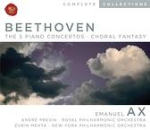 艾克斯/貝多芬:鋼琴協奏曲全集 & 合唱幻想曲 (3CD)